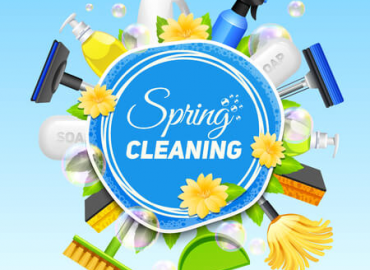 What to do during spring clean