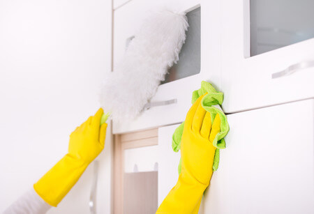 Difference between the End of tenancy cleaning and One-off clean